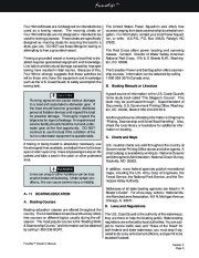 Four Winns Funship 214 234 264 Boat Owners Manual, 2003,2004,2005 page 24
