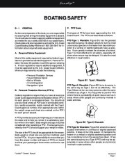 Four Winns Funship 214 234 264 Boat Owners Manual, 2003,2004,2005 page 27