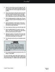 Four Winns Funship 214 234 264 Boat Owners Manual, 2003,2004,2005 page 38