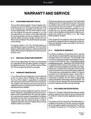 Four Winns Funship 214 234 264 Boat Owners Manual, 2003,2004,2005 page 46