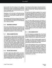 Four Winns Funship 214 234 264 Boat Owners Manual, 2003,2004,2005 page 47