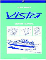2000 Four Winns Vista 238 258 278 Owners Manual page 1