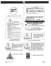 2002 Four Winns Horizon 170 180 190 Sport Owners Manual, 2002 page 5