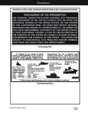 Four Winns Sundowner 205 225 245 285 Boat Owners Manual, 2003,2004,2005,2006,2007,2008 page 12