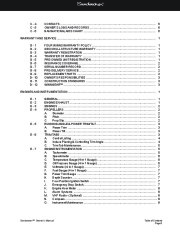 Four Winns Sundowner 205 225 245 285 Boat Owners Manual, 2003,2004,2005,2006,2007,2008 page 15