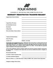 Four Winns Sundowner 205 225 245 285 Boat Owners Manual, 2003,2004,2005,2006,2007,2008 page 2