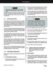 Four Winns Sundowner 205 225 245 285 Boat Owners Manual, 2003,2004,2005,2006,2007,2008 page 23