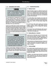 Four Winns Sundowner 205 225 245 285 Boat Owners Manual, 2003,2004,2005,2006,2007,2008 page 26