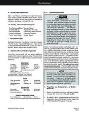 Four Winns Sundowner 205 225 245 285 Boat Owners Manual, 2003,2004,2005,2006,2007,2008 page 32