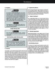 Four Winns Sundowner 205 225 245 285 Boat Owners Manual, 2003,2004,2005,2006,2007,2008 page 40