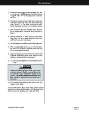 Four Winns Sundowner 205 225 245 285 Boat Owners Manual, 2003,2004,2005,2006,2007,2008 page 42