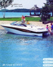 Four Winns Horizon 180 190 200 Boat Owners Manual page 1