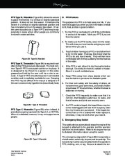 Four Winns Horizon 180 190 200 Boat Owners Manual, 2002,2003 page 23