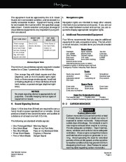 Four Winns Horizon 180 190 200 Boat Owners Manual, 2002,2003 page 25