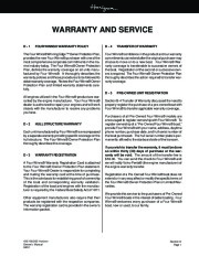 Four Winns Horizon 180 190 200 Boat Owners Manual, 2002,2003 page 41