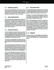 Four Winns Horizon 180 190 200 Boat Owners Manual, 2002,2003 page 42