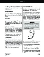 Four Winns Horizon 180 190 200 Boat Owners Manual, 2002,2003 page 49