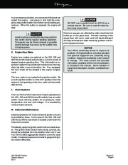Four Winns Horizon 180 190 200 Boat Owners Manual, 2002,2003 page 50