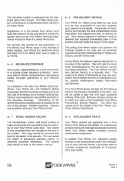 Four Winns Quest 187 207 217 237 257 Owners Manual, 1991 page 8