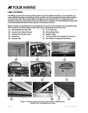 Four Winns F-Series Boat Owners Manual, 2011 page 14