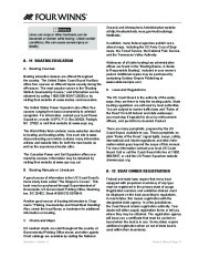 Four Winns F-Series Boat Owners Manual, 2011 page 23