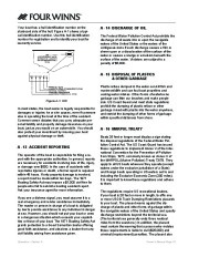 Four Winns F-Series Boat Owners Manual, 2011 page 24