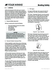 Four Winns F-Series Boat Owners Manual, 2011 page 26