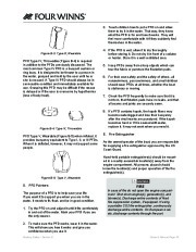 Four Winns F-Series Boat Owners Manual, 2011 page 27