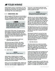 Four Winns F-Series Boat Owners Manual, 2011 page 42