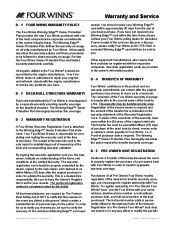 Four Winns F-Series Boat Owners Manual, 2011 page 46