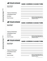 Four Winns F-Series Boat Owners Manual, 2011 page 49