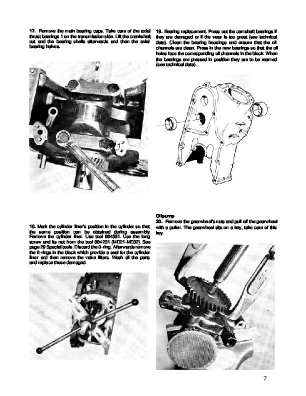 Volvo Penta MD5A Marine Diesel Engine Workshop Manual
