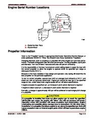 Mercury MerCruiser GM 4 Cylinder 181 cid 3.0L Marine Engines Service Manual Number 26, 1998,1999,2000,2001,2002,2003,2004,2005,2006,2007,2008,2009,2010,2011 page 11