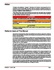 Mercury MerCruiser GM 4 Cylinder 181 cid 3.0L Marine Engines Service Manual Number 26, 1998,1999,2000,2001,2002,2003,2004,2005,2006,2007,2008,2009,2010,2011 page 3