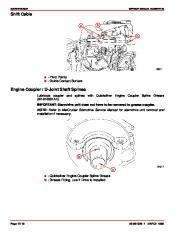 Mercury MerCruiser GM 4 Cylinder 181 cid 3.0L Marine Engines Service Manual Number 26, 1998,1999,2000,2001,2002,2003,2004,2005,2006,2007,2008,2009,2010,2011 page 34