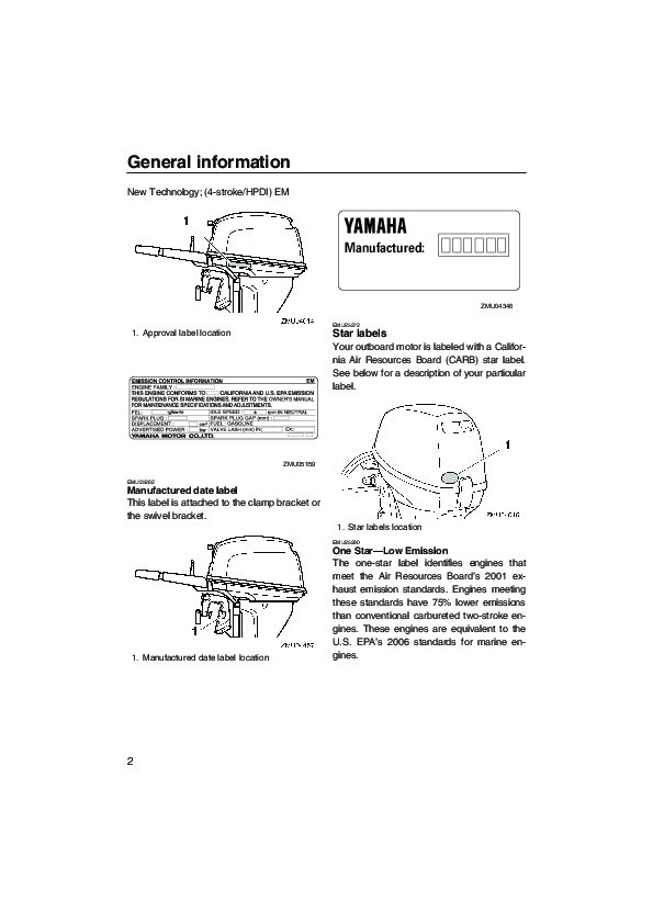 Yamaha F Outboard Owners Manual