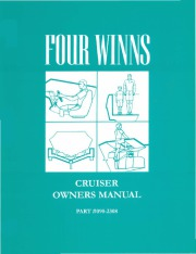 Four Winns Vista 245 265 Express 285 315 325 365 Cruiser Owners Manual page 1