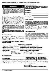 2007 Johnson 25 hp E4 EL4 4-Stroke Outboard Owners Manual, 2007 page 6