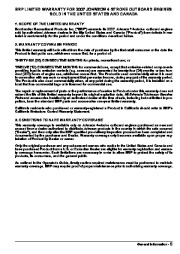 2007 Johnson 25 hp E4 EL4 4-Stroke Outboard Owners Manual, 2007 page 7