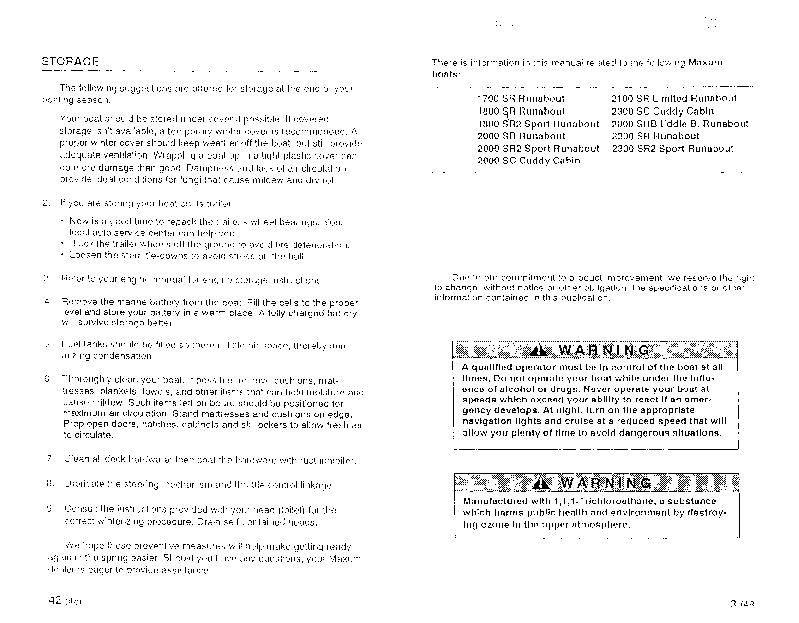 maxum stern drive runabout boat owners manual 1995 rh marine filemanual com Repair Manuals Operators Manual