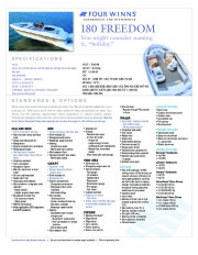 2002-2003 Four Winns Horizon 170 180 190 200 210 230 Sundowner 205 225 245 Freedom 170 180 Funship 214 234 254 264 Addendum Boat Owners Manual, 2002,2003 page 7