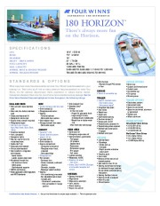 2002-2003 Four Winns Horizon 170 180 190 200 210 230 Sundowner 205 225 245 Freedom 170 180 Funship 214 234 254 264 Addendum Boat Owners Manual, 2002,2003 page 8
