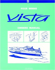 1994-2000 Four Winns Vista 238 258 278 Boat Service Owners Manual page 1