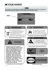 Four Winns V375 Boat Owners Manual, 2011 page 16