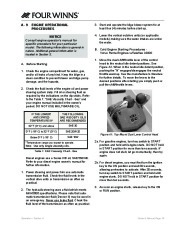 Four Winns V375 Boat Owners Manual, 2011 page 21