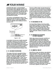 Four Winns V375 Boat Owners Manual, 2011 page 25