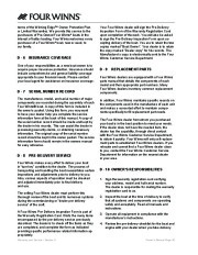 Four Winns V375 Boat Owners Manual, 2011 page 48