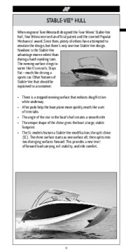 Four Winns H F SL V Trailers Series Fast Facts Specifications, 2011 page 10