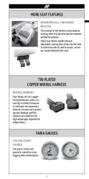 Four Winns H F SL V Trailers Series Fast Facts Specifications, 2011 page 6