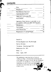 Perkins Engines 4 108 Owners Manual page 1